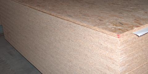 OSB faforgácslapok raktárkészletről a BRIZS Kft telepén